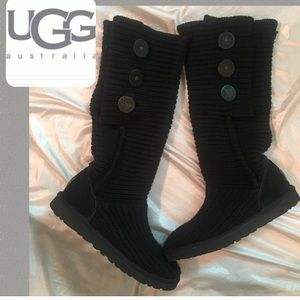 Uggs knit boots